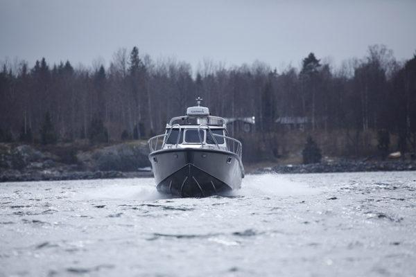 Aluminium kajuitboot